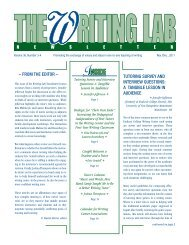36.3-4 - The Writing Lab Newsletter