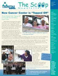 "New Cancer Center is ""Topped Off"" - Trinitas Hospital"