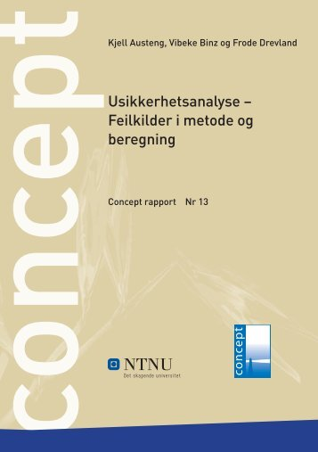 Feilkilder i metode og beregning - Concept - NTNU