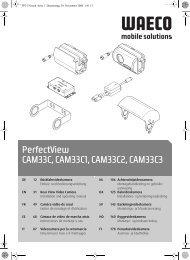 PerfectView CAM33C, CAM33C1, CAM33C2, CAM33C3 - Waeco