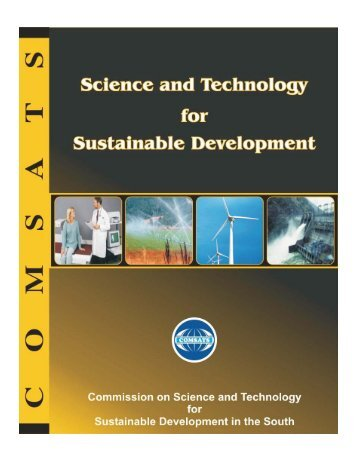 Science and Technology for Sustainable Development - Comsats