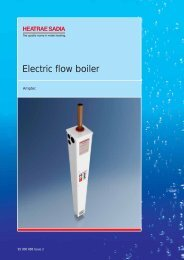 Electric flow boiler - Heat & Plumb