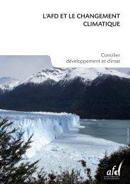 Plaquette L'AFD et le changement climatique - Agence Française de ...