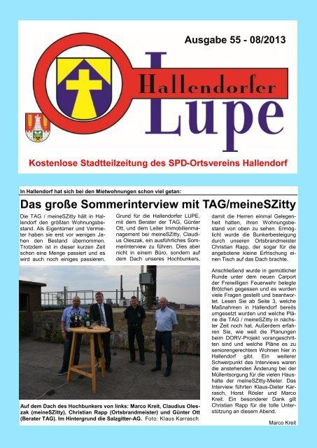 LUPE 55-Online - SPD-Hallendorf