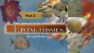 Origins - 1207 Living Fossils - Part 2.pdf - Arrival of the Fittest