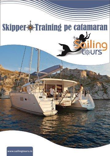 Skippertraining pe catamaran - pdf - Sailing tours
