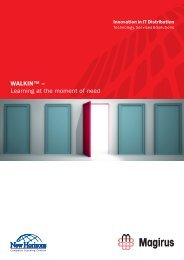 WALKIN™ – Learning at the moment of need - Magirus