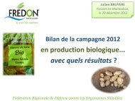 Protection phytosanitaire - Chambre d'agriculture