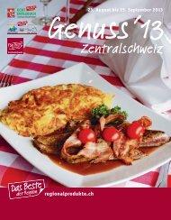 Genuss-Magazin - Kanton Schwyz