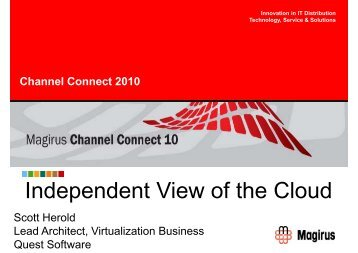 Independent View of the Cloud - Magirus