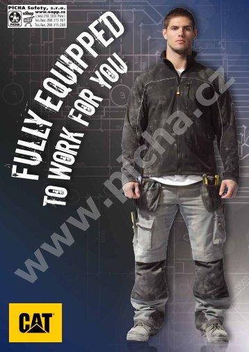 Katalog CATERPILLAR - pracovní oděvy, pracovní obuv, rukavice