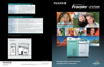LP5700R Brochure.pdf - Fujifilm USA
