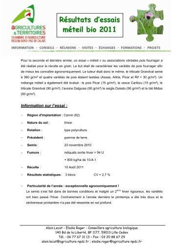 82 solutions des probl m - Chambre d agriculture recrutement ...