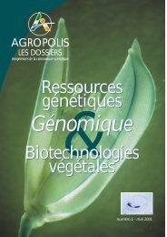 Ressources génétiques & génomique - Biotechnologie Végétale