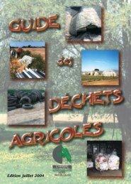 Guide des déchets - Chambre d'agriculture