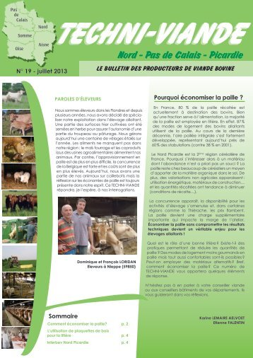 Rep res agro industries n 127 chambre d 39 agriculture for Chambre d agriculture aquitaine