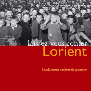 Laissez-vous conter les lieux de spectacles - Lorient