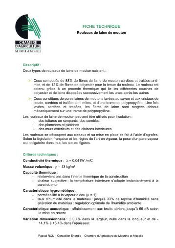 Filets de protection en u for Chambre d agriculture 13 organigramme