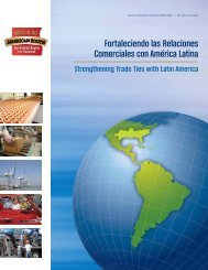 Fortaleciendo las Relaciones Comerciales con América Latina