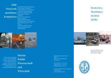 DMI Netzwerk maritimer Kompetenz Marine Politik Wissenschaft und ...