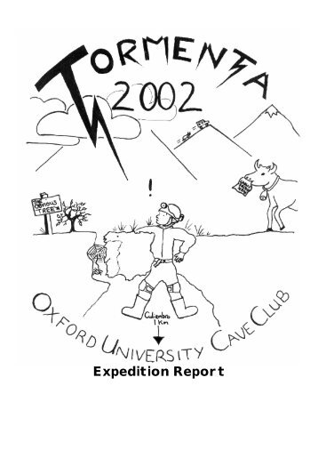 Expedition final report (pdf) - Oxford University Cave Club