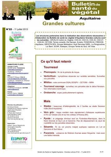 Bsv n 19 chambre d 39 agriculture de la gironde for Chambre d agriculture aquitaine