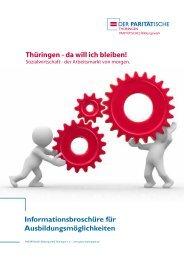 2011-01-pbw_ausbildung_web.pdf - Der PARITÄTISCHE Thüringen