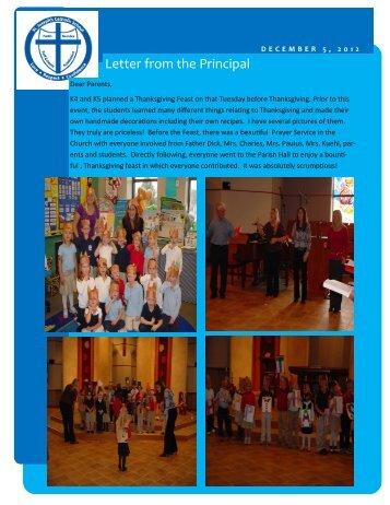 December 5 - St. Joseph Catholic Faith Community