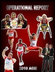 Operational Report - Athletics Canada Videos