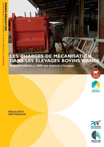 Les charges de la mécanisation dans les élevages bovins viande