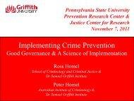 presentation - Prevention Research Center