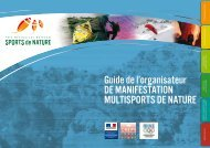 Guide de l'organisateur de manifestation multisports de nature