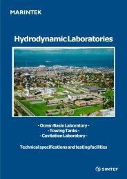 Hydrodynamic Laboratories - Sintef