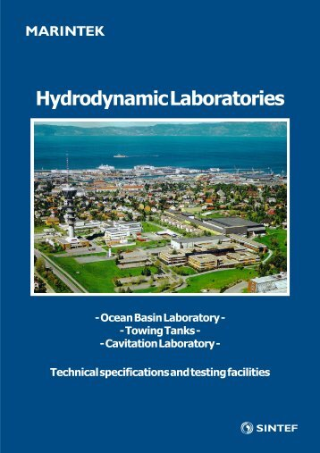 Hydrodynamic Laboratories - Sintef