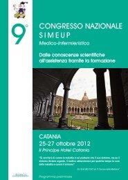 programma preliminare SIMEUP 2012 - Biomedia online