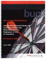 Buck - City of Jonesboro