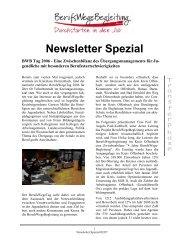 BWB Tag 2006 - Kompetenzen fördern