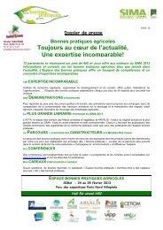 espace bonnes pratiques agricoles - SIMA