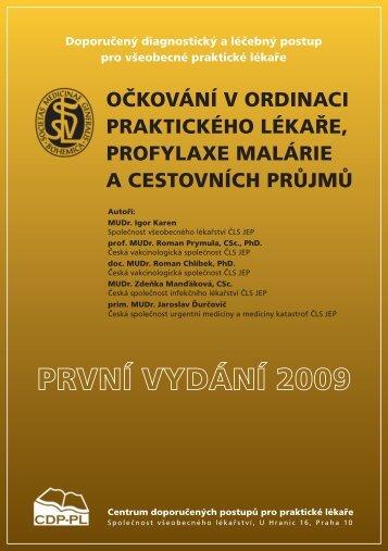 OčkOvání v Ordinaci praktickéhO lékaře, prOfylaxe malárie a ...