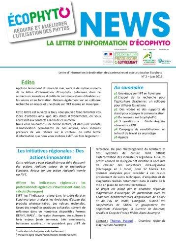 Lettre d 39 infos vin bio portail de l 39 agriculture biologique en - Chambre d agriculture de picardie ...