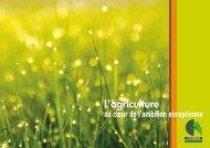 L'agriculture au coeur de l'ambition européenne - Chambres d ...