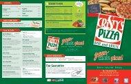 View Menu - Cristy's Pizza