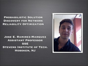 Probabilistic Solution Discovery for Network Reliability Optimization ...