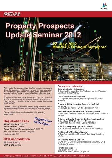 Property Prospects Update Seminar 2012 - Redas.com