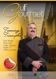 Towering Triumphs - The Emirates Culinary Guild