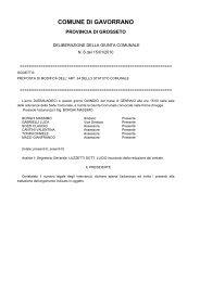 Proposta di modifica dell`ART. 64 dello Statuto Comunale.