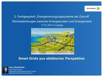 Smart Grids aus städtischer Perspektive - Sustainable Energy ...