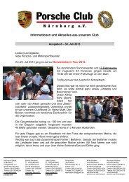 Porscheclub Info Ausgabe 08-2013 - porsche-club-nuernberg.de