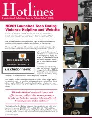 Hotlines - Texas Council on Family Violence