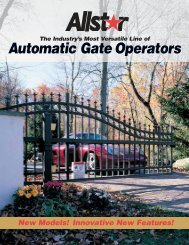 Automatic Gate Operators - Linear